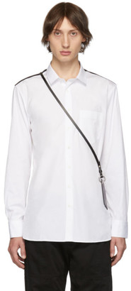 Neil Barrett White Card Holder Shirt