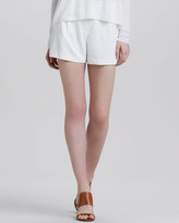 Theory Clah Relaxed Twill Shorts