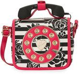 Betsey Johnson Kitsch Mini Phone Crossbody Bag