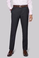 DKNY Slim Fit Charcoal Twill Pants
