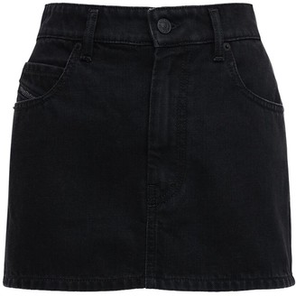 Diesel Eisy Denim Mini Skirt