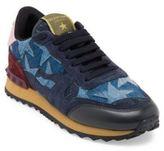 Valentino Camustars Denim Sneakers