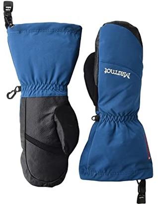Marmot Warmest Mitt (Moroccan Blue) Snowboard Gloves