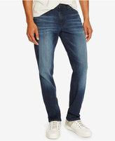 Kenneth Cole Reaction Men's Straight-Fit Dark Indigo Wash Jeans