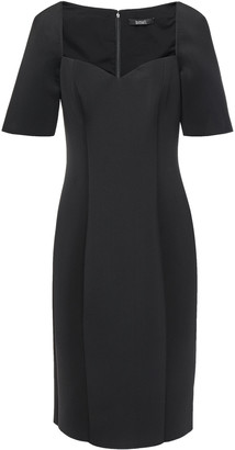Badgley Mischka Scuba Sheath Dress