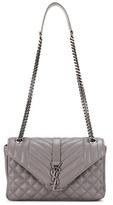 Saint Laurent Medium Tri-quilt Slouchy Leather Shoulder Bag
