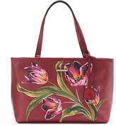 Dana Buchman Bella Floral Double Entry Tote