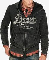 Denim & Supply Ralph Lauren Men's Full-Zip Graphic-Print Hoodie
