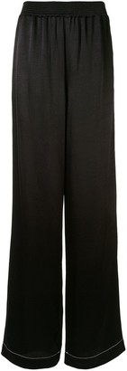 Proenza Schouler White Label Contrast Stitching Palazzo Trousers