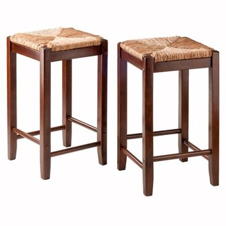 Super Rush Seat Bar Stools Shopstyle Machost Co Dining Chair Design Ideas Machostcouk
