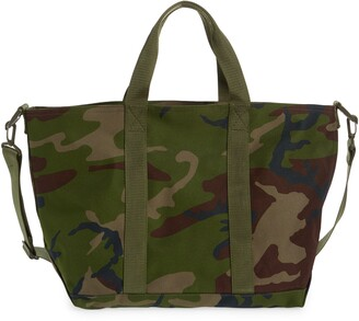 L.L. Bean Hunter's Zip Top Tote