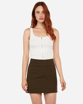 Express Patch Pocket Mini Skirt