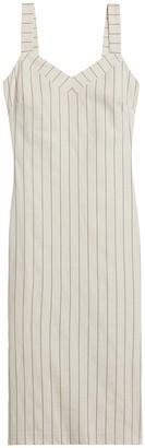Banana Republic Stripe Strappy Sheath Dress