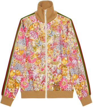 Gucci Online Exclusive The North Face x jersey jacket