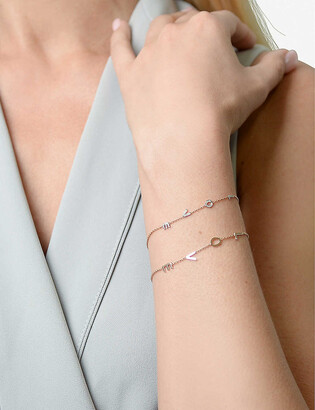 The Alkemistry Kismet by Milka Love 14ct rose-gold and diamond bracelet