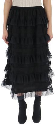 RED Valentino Layered Ruffle Skirt