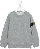 Stone Island Kids crew neck sweatshirt