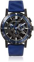 Burberry Men's BU9807 Blue Rubber Swiss Quartz Watch