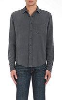 Simon Miller Men's Arcata Cotton Twill Shirt-GREY