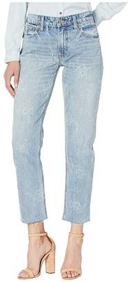 Lucky Brand Sienna Slim Boyfriend Jeans in Indigo Lotus (Indigo Lotus) Women's Jeans