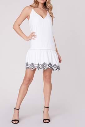 BB Dakota Let-It-Slip Embroidered Dress