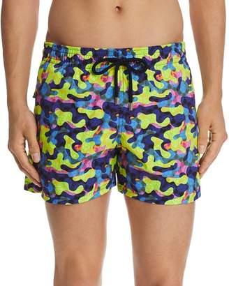 Vilebrequin Moonrise Neo Camouflage-Print Swim Shorts