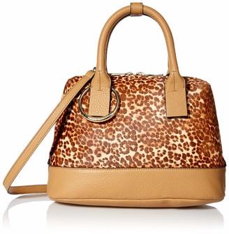 Vince Camuto Women's Kimi Satchel Leopard Bag