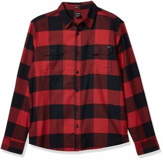 Dickies Men's Long Sleeve Flex Flannel Woven Shirt