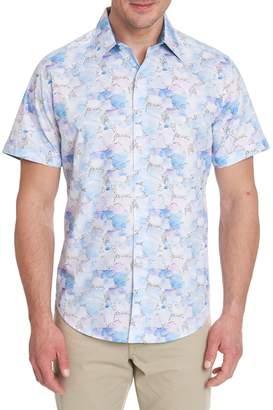 Robert Graham Pastel-Print Short-Sleeve Shirt