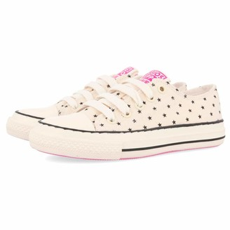 GIOSEPPO Girls Glades Low-Top Sneakers White (Off-White Off-White) 1.5 UK 1.5UK Child