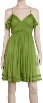 Max Studio Ruffled Camisole Dress