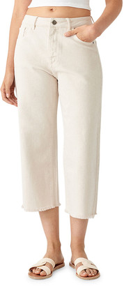 DL1961 Hepburn Crop High-Rise Wide-Leg Jeans