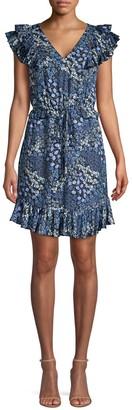 Rebecca Taylor Ava Ruffled Silk Dress