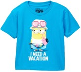 JEM Minion I Need A Vacation Tee (Toddler & Little Boys)