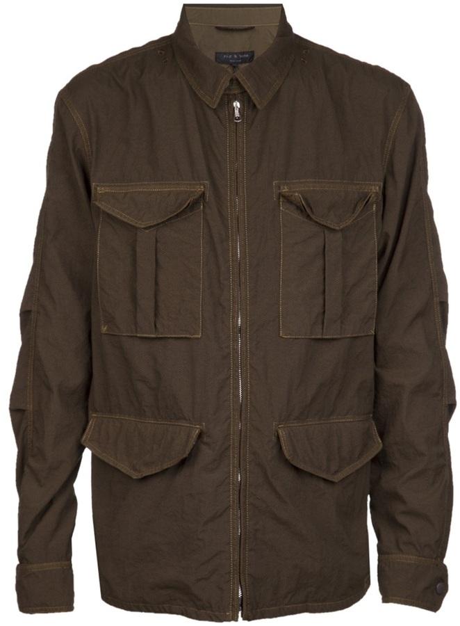 Rag and Bone Rag & Bone 'Newport' utility jacket