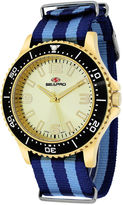 Seapro Sea-Pro Tideway Mens Two Tone Strap Watch-Sp5315nbl