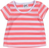 Erge Striped Tee (Baby) - Neon Pink-12 Months