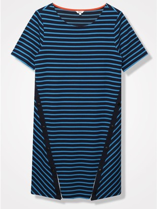 M&Co Khost Clothing stripe t-shirt dress