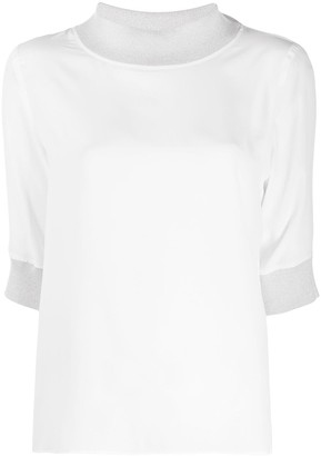 Lorena Antoniazzi High-Neck T-Shirt