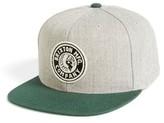 Brixton Men's Rival Snapback Baseball Cap - Grey