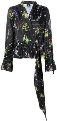 Kappa Kontroll Floral Print Logo Blouse