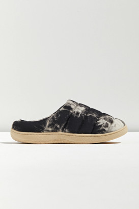 Urban Outfitters Quilted Tie-Dye Mule Slipper