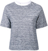 Julien David crewneck T-shirt - women - Cotton - M