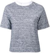 Julien David crewneck T-shirt - women - Cotton - S