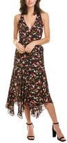 A.L.C. Roslyn Silk Midi Dress