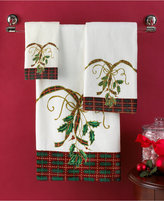 "Lenox Bath Towels, Holiday Nouveau 11"" x 18"" Fingertip Towel"