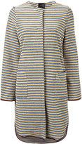 Odeeh striped coat - women - Cotton - 34