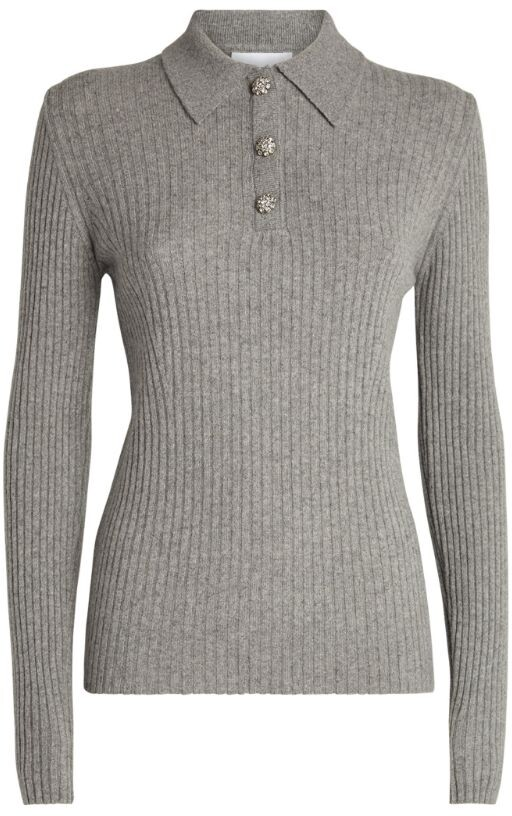 Thumbnail for your product : Ganni Wool-Blend Top