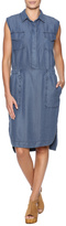 Sen Chambray Button Dress
