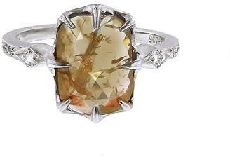 Cathy Waterman Fine Rustic Diamond Ring